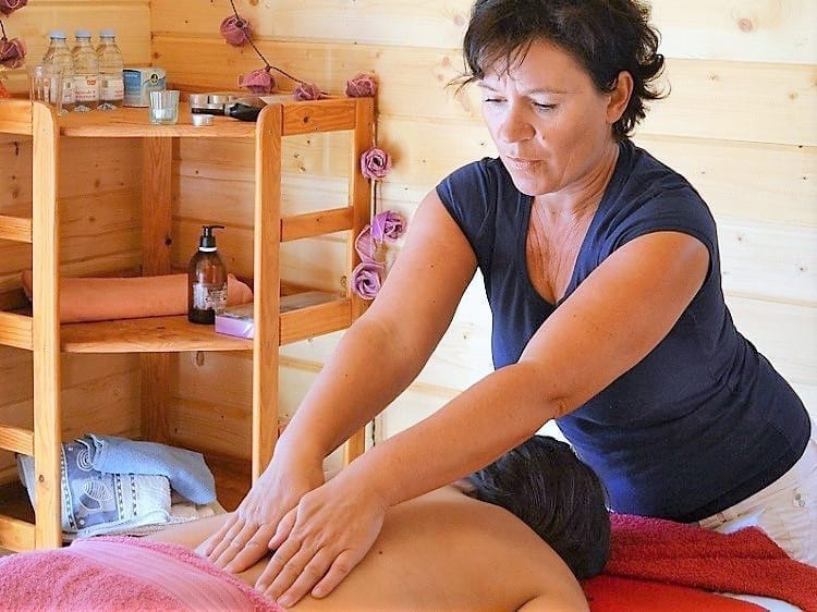 Yoga & Massage Verwenarrangement