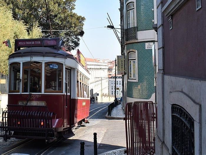Vliegen naar Lissabon