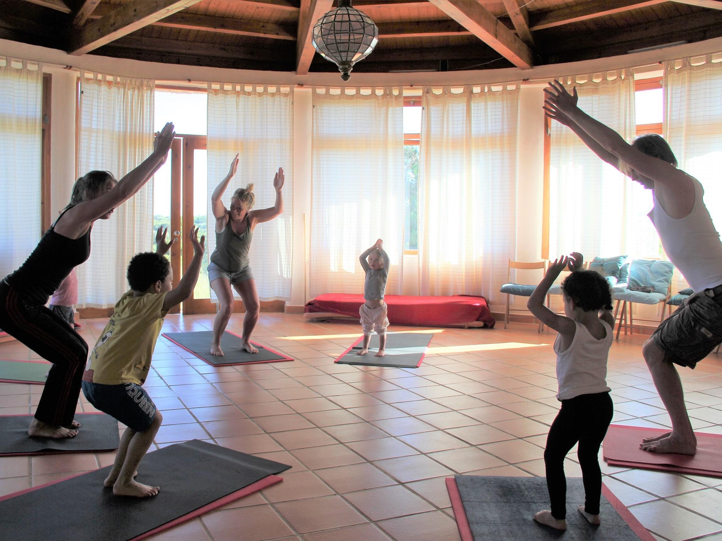 Yoga e Meditação na Área